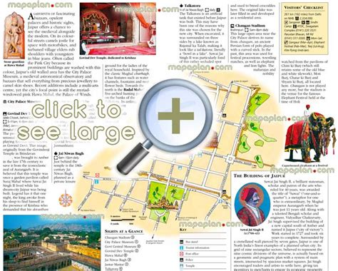 jaipur maps top tourist attractions free printable