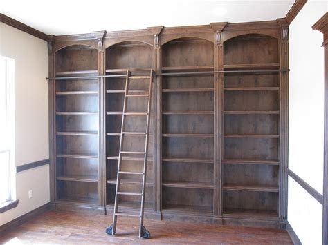 rolling bookcase ladder rolling library ladders storage and organization by custom service hardware inc
