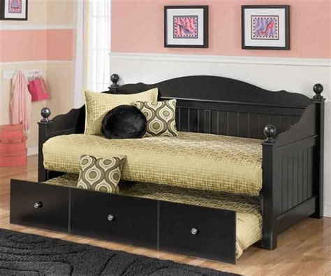 day trundle bed jaidyn day bed with trundle bedroom furniture beds ashley furniture