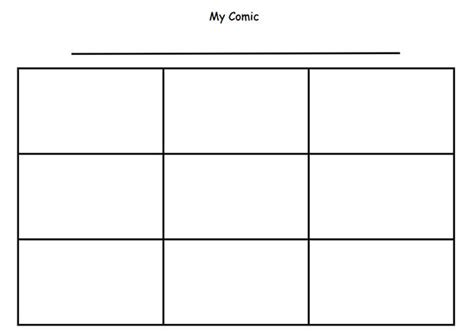 Printable Blank Comic Template For by Comic Template Free Premium Templates