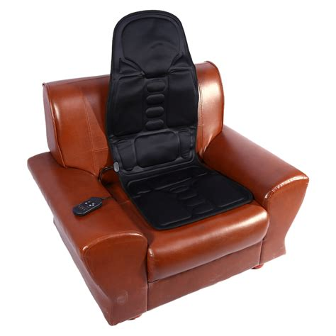 heat  massage chair car home seat cushion massager neck pain pad heater hot ebay