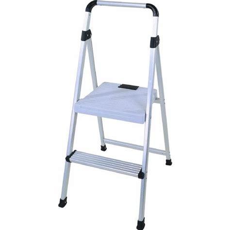 lightweight 2 step folding step stool jet