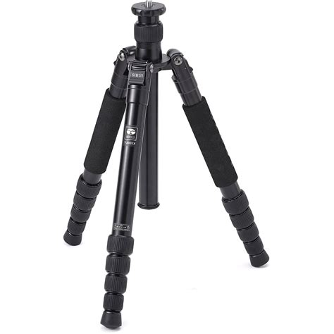 sirui t 1005x 5 section aluminum tripod sirui t 2005x 5 section aluminum tripod sut2005x b h photo