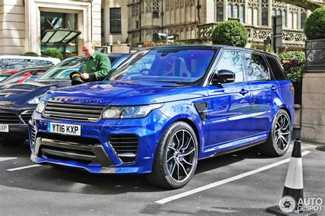 land rover overfinch land rover overfinch range rover sport supercharged 2014