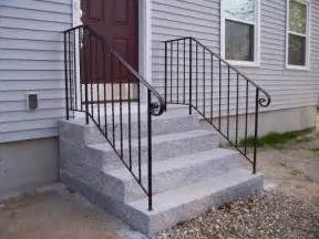 Outdoor Metal Handrail Image Gallery Outside Handrails