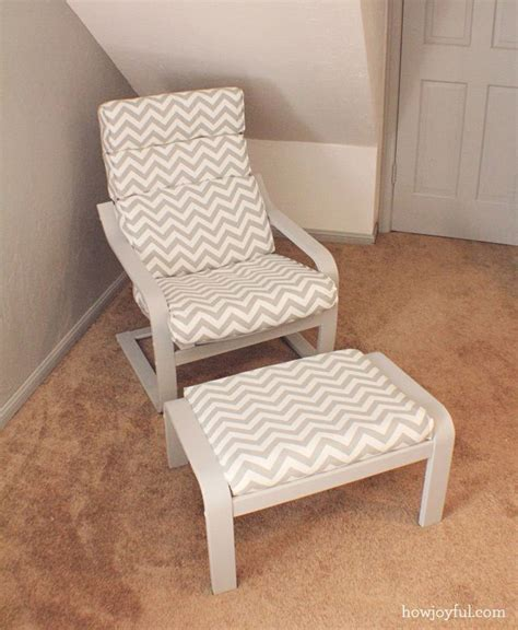 Ikea poang chair recover   How Joyful (these look like my
