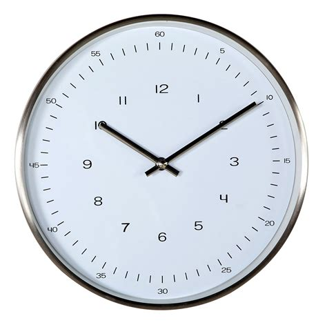 simple wall clock stilnovo verichron simple wall clock wall clocks at