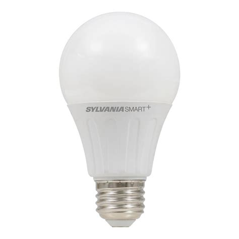 sylvania light bulbs customer service sylvania smart zigbee soft white dimmable a19 led smart