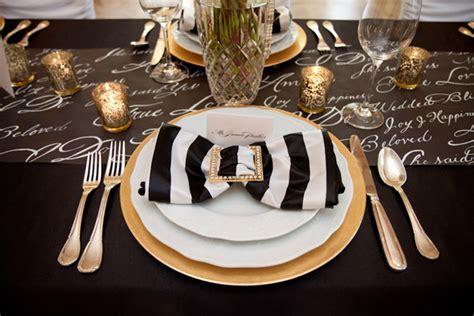 themes black gold tbdress blog an elegant black and gold wedding theme