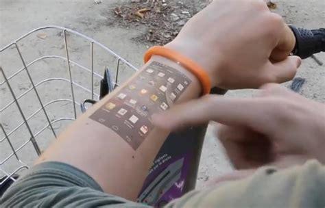 Cicret Bracelet   The World's First Smartphone Wristband