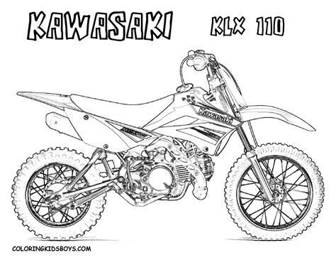 dirt bike coloring pages fierce rider dirt bike coloring dirtbikes free