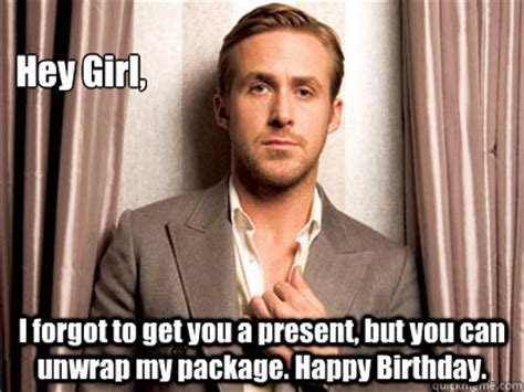 Ryan Gosling Birthday Meme - ryan gosling birthday memes quickmeme