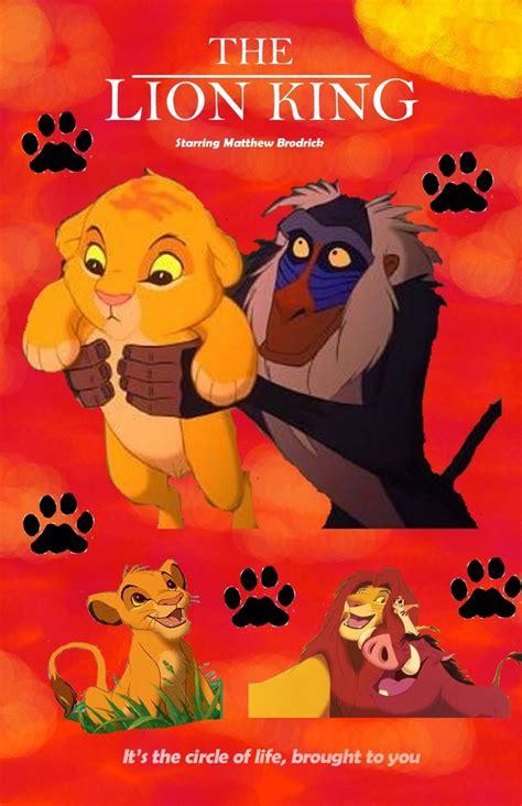 printable lion king poster lion king poster by charlenebibby on deviantart