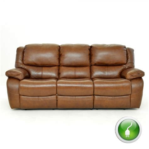 Electric Recliner Sofa Prices by Lazboy 3 Seater Electric Recliner Sofa In Leather At
