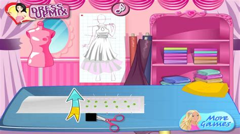 barbie fashion design maker youtube barbie fashion designer juego youtube