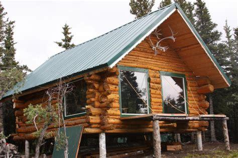 Log Cabin Alaska For Sale by Return To Alaska Log Cabin August 2008