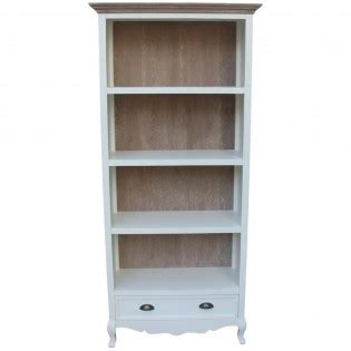 white bookcase with drawer white bookcase with drawer provencal 83x184x37 etnicart