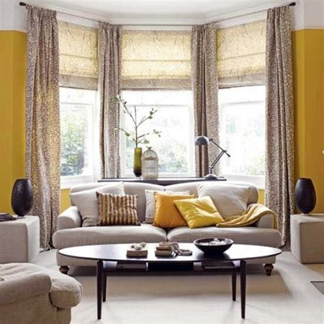 yellow livingroom 50 modern curtains ideas practical design window