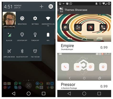 themes android cyanogenmod how to get android l on the nexus 5 with cyanogenmod