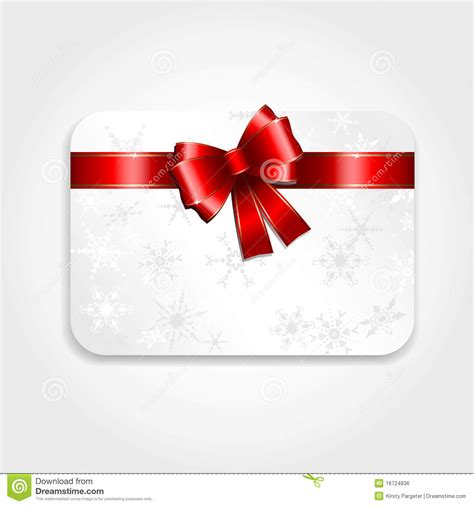 christmas gift card stock vector illustration of gift
