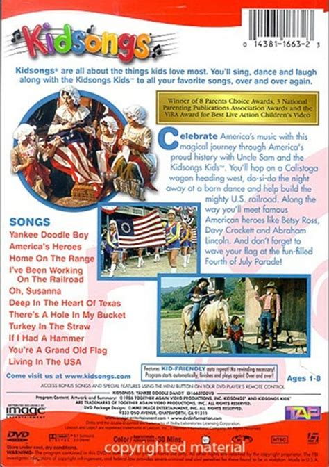 yankee doodle dandy dailymotion kidsongs home on the range car interior design