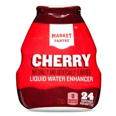 market pantry liquid water enhancer cherry 24 se target