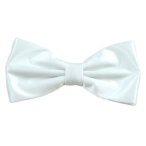 Plain Bow Tie plain white bow tie from ties planet uk
