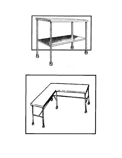 figure 1 9 large instrument table back table