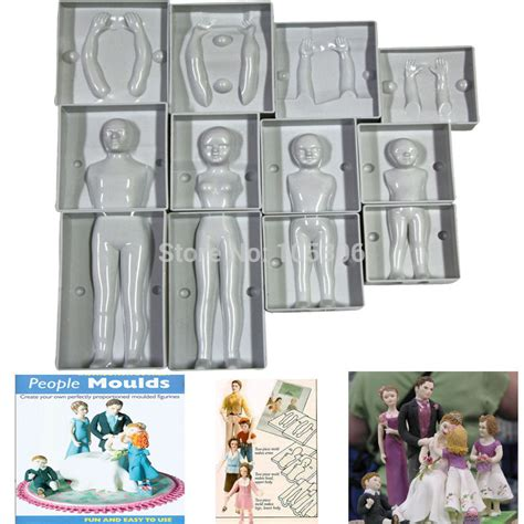 figure molds aliexpress buy fondant 3d cake molds family