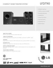 lg lfd790 home theater system images frompo 1