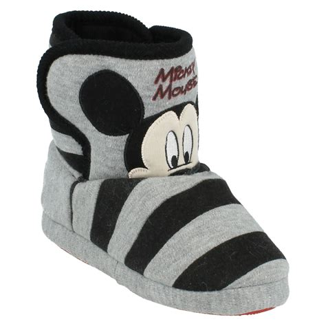 mickey mouse slipper socks children mickey mouse slipper boot mickey mouse ebay