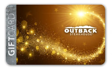 Where Can Outback Gift Cards Be Used - outback gift cards outback steakhouse