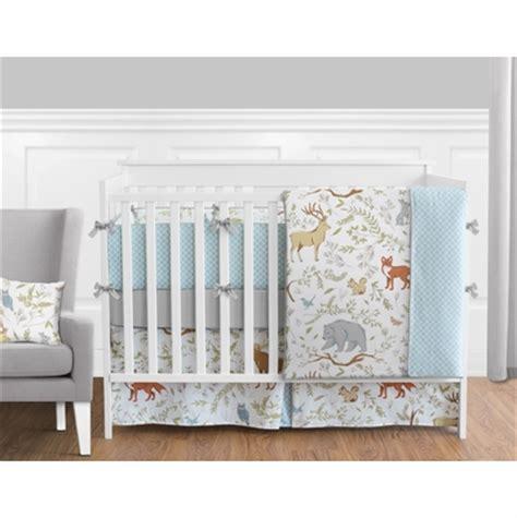 crib bedding collection woodland toile crib bedding collection