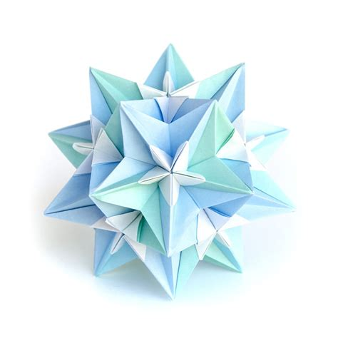 Intricate Origami - i created hundreds of intricate modular origami balls