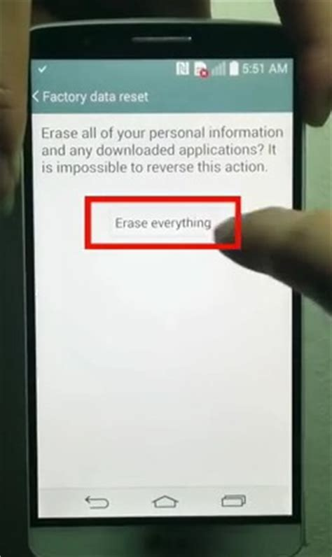 factory reset lg g3 how to hard reset factory data reset your lg g3 smartphone