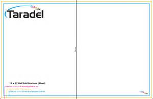 11x17 Brochure Template by Taradel Brochures Templates