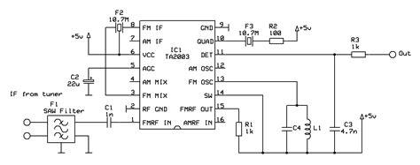 datasheet transistor fm design of a tv tuner based radio scanner 183 one transistor