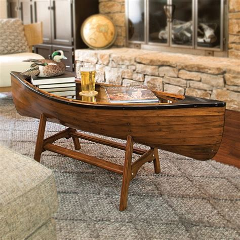 canoe coffee table for sale canoe lodge coffee table
