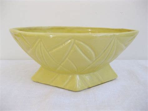 vintage ceramic planter usa