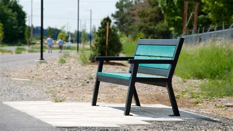rutherford bench rutherford park bench angled leg wishbone site furnishings