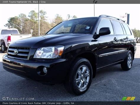 2005 Toyota Highlander V6 2005 Toyota Highlander V6 In Black Photo No 24846645