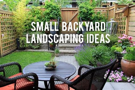 Landscape Ideas For Small Backyard Small Backyard Landscaping Ideas Rc Willey