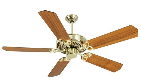craftmade ceiling fans craftmade cxl ceiling fan cxl52pb in polished brass