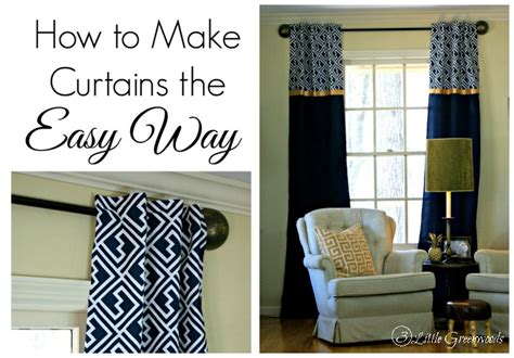 how to make curtains most popular diy projects and crafts