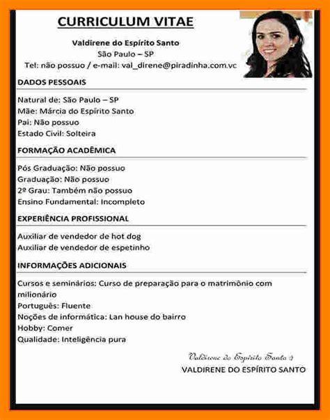 Modelo De Curriculum Vitae Word 7 Modelo De Cv En Word Resumed