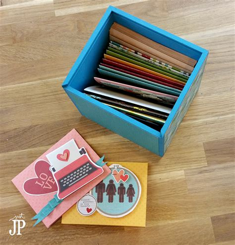 Card Making Gift Sets - diy card box gift set with simple stories quot we are family quot tombow usa blog