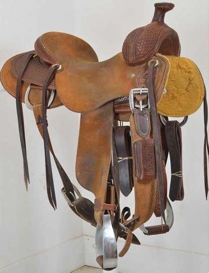 Handmade Saddles For Sale - used 15 5 quot jeff smith custom saddles ranch saddle