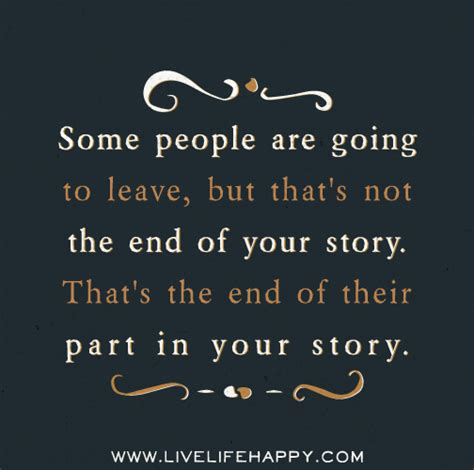 This Is Not Your Story some are going to leave but that s not the end of