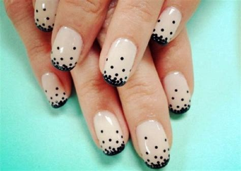 easy nail art white base black and white easy nail art ideas for beginners with