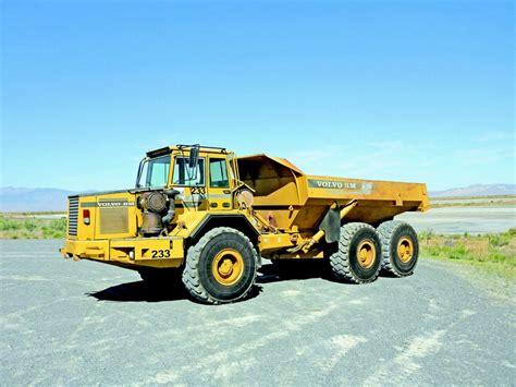 volvo gm heavy truck volvo a35 articulated dump truck yellow iron pinterest
